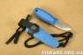 Нож morakniv (мора) Eldris Colour Mix 2.0 Blue (12631) 2