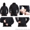 Флисовая кофта с капюшоном Helikon-Tex Patriot Heavy Fleece Jacket-Black  M, L, XL/regular BL-PAT-HF-01) 6