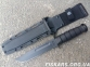 Военный нож KA-BAR 1214 Black SERR Knife 2
