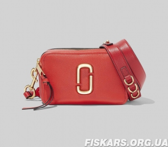 Сумка Marc Jacobs (Марк Джейкобс) The 21 Softshot Bright Red Multi (M0014591) красный