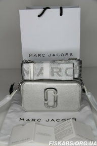 Сумка Marc Jacobs (Марк Джейкобс) Snapshot Small Camera Bag DTM  original QR Код (Silver)