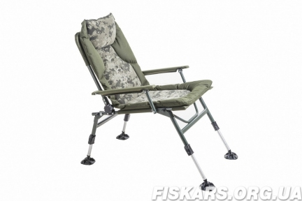 Кресло карповое Mivardi усиненное до 130 кг Chair CamoCODE Arm Чехия (M-CHCCA)