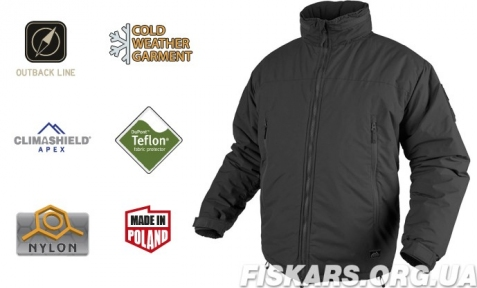 Куртка Helikon Level 7 Winter Jacket Black S, M, L, XL, XXL regular (KU-L70-NL-01)