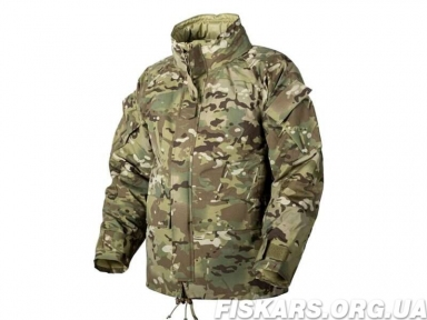 Куртка Helikon Level 7 Climashield Apex 100 g Camogrom (KU-L70-NL-14) размер М/ regular