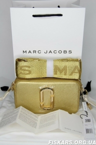 Сумка Marc Jacobs (Марк Джейкобс) Snapshot DTM Small Camera Bag Gold