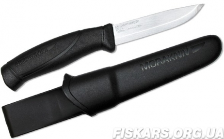 Нож Mora Companion black Stainless Steel (12141)