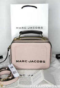 Сумка Marc Jacobs (Марк Джейкобс) Mini Box Bag BLUSH Original QR код