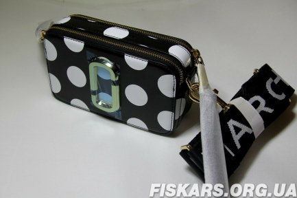 Сумка Marc Jacobs (Марк Джейкобс) Snapshot Small Camera Bag  (M0010323-002) Black Multi