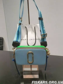 Сумка Marc Jacobs (Марк Джейкобс) Snapshot Small Camera Bag Light Blue