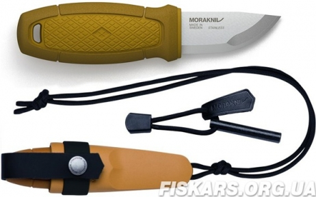 Нож morakniv (мора) Eldris Colour Mix 2.0 Yellow (12632)