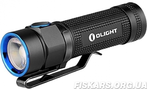 Фонарь  OLIGHT S1A BATON STAINLESS STEEL GUNBLACK XM-L2 COOL WHITE LIMITED EDITION 2016 (S1A BATON)