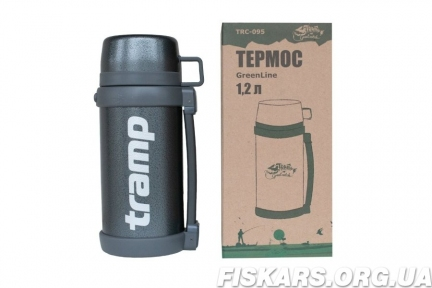 Термос Tramp Greenline 1.2 л, TRC-095