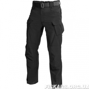 Штаны Helikon OTP Nylon Black Outdoor Tactical Pants S, M, L, XL, XXL ,XXL (SP-OTP-NL-01)