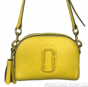 Сумка Marc Jacobs (Марк Джейкобс) Shutter Crossbody Bag Yellow M0009474