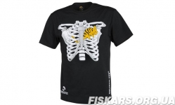 Мужская хлопковая футболка Helikon T-SHIRT (CHAMELEON IN THORAX) Black L (TS-CIT-CO-01)