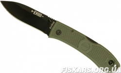 Тактический нож KA-BAR 4062FG - Dozier Folding Hunter - Foliage Green