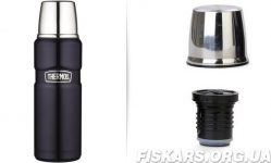 Термос фирмы Термос  (Thermos) с чашкой 470 мл Stainless King Flask (170010)