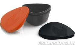 Набор посуды LIGHT MY FIRE SnapBox 2-pack Orange/Black, (40358913)