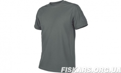 Тактическая футболка Tactical T-shirt Helikon TopCool Shadow Grey (TS-TTS-TC-35)