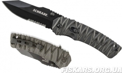 Нож для выживания Schrade - M.A.G.I.C. Dual Action Serrated Clip Point (SCHA10BS)