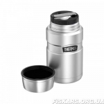 Термос для еды Thermos Stainless King Food Flask, Stainless Steel, 470 ml (173050) стальной