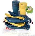 Набор посуды Light My Fire Pack´n Eat Kit BIO mustyyellow/hazyblue 2506811440