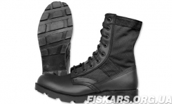 Берцы MIL-TEC US Jungle Panama Tropical Boots Black (12826002)