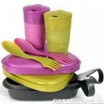 Набор посуды Light My Fire Pack'n Eat Kit LMF Pirategold/Pinkmetal (50686440)