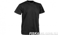Тактическая футболка Patrol Classic Army T-shirt Helikon Black (TS-TSH-CO-01)